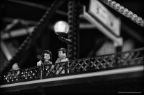 26 bridges – the Lego traffic bridge