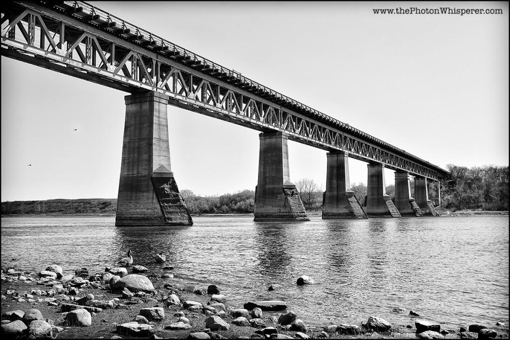 vintage rail bridge