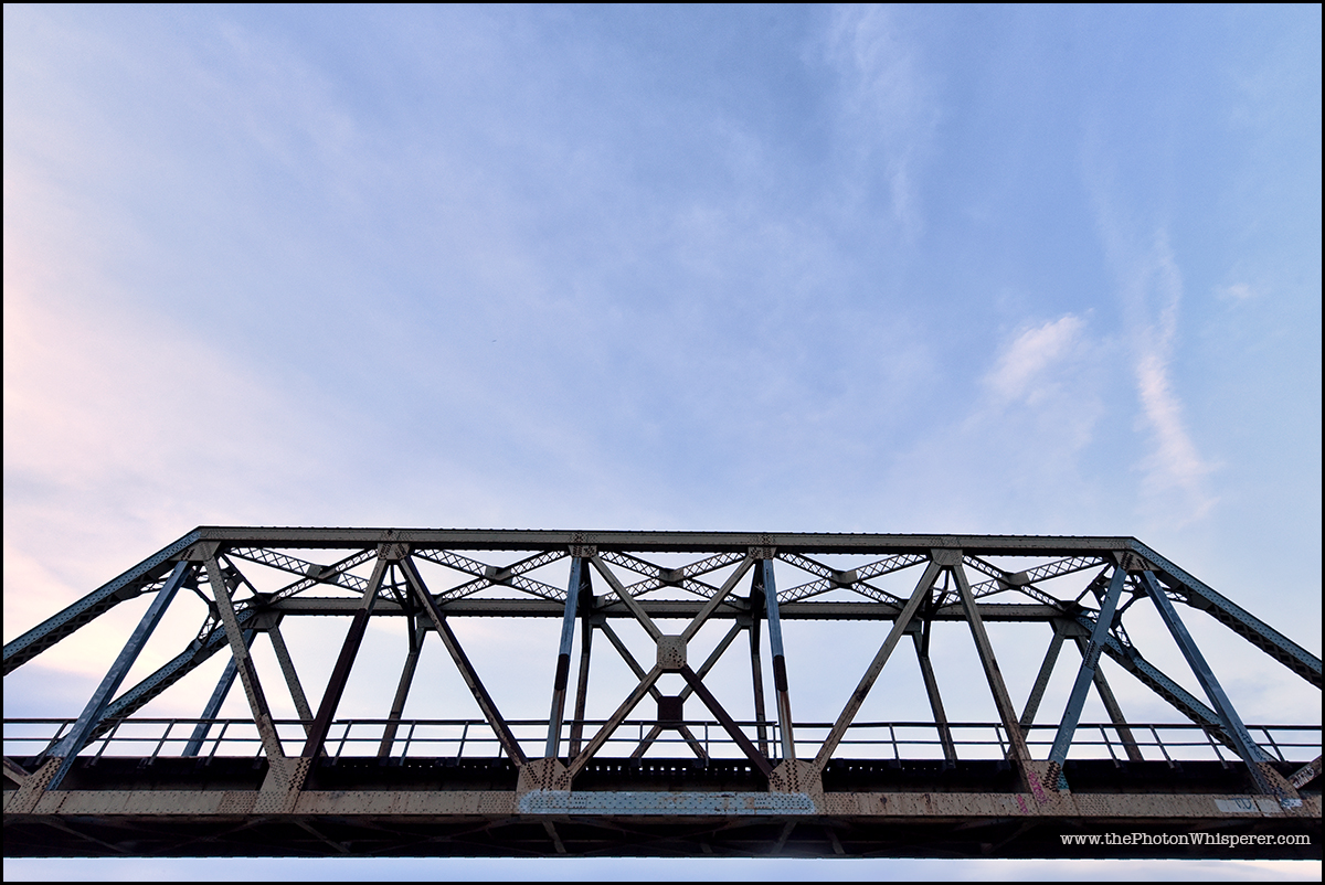 the truss on the top